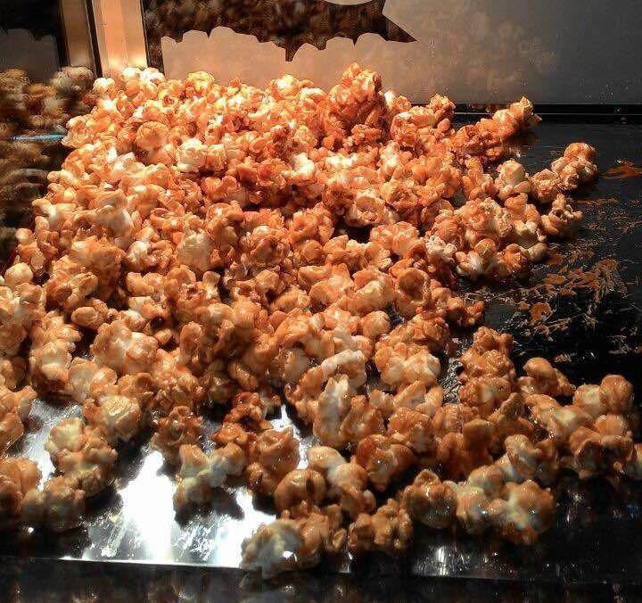 popcorn dalam mesin
