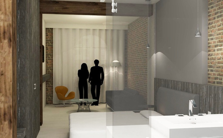 Guest room concept for Boutique Hotel