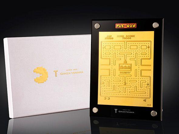 田中貴金属ジュエリー 純金パックマン 35周年を記念して35万円で35個限定販売