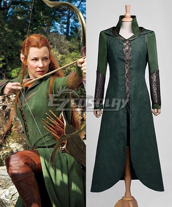 The Hobbit Desolation of Smaug Tauriel Cosplay Costume - EHB0005