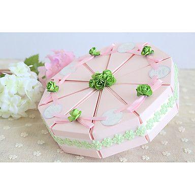 Geschenkboxen(Rosa,Kartonpapier) -Nicht personalisiert-Brautparty / Babyparty / Quinceañera & Der 16te Geburtstag / Geburtstag / Hochzeit 5143548 2017 – €6.85