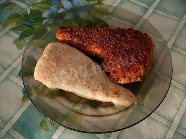Фаршированные куриные окорочка без кости