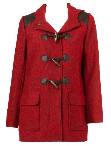 Tweed Duffle Coat #sportsgirl