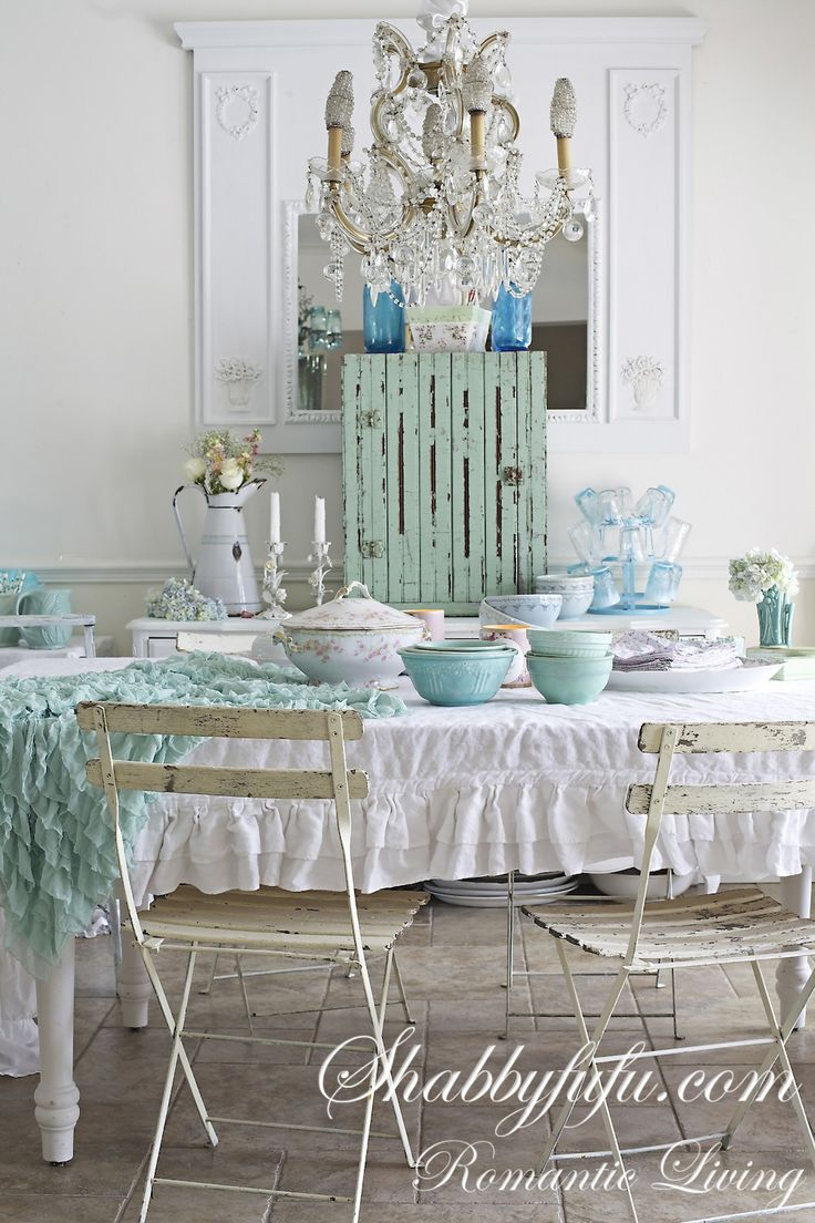 220 best images about shabby chic style on pinterest for Shabby chic dining room wall art