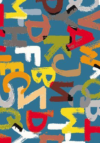 Elementarz 160x230 Niebieski - Dywany dziecięce - sklep internetowy Topworld Najlepsze Dywany