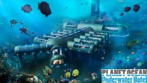 L'incredibile hotel sottomarino diventa realtà: 12 camere a otto metri di profondità