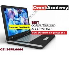 Best Computerized Accounting Course Karachi