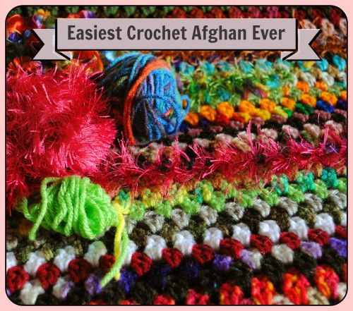 Free Pattern: Easiest Crochet Project Ever - Granny Stripe Blanket: great for beginners