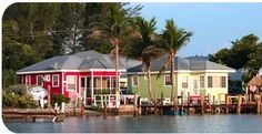 The Castaways Beach and Bay Cottages on Sanibel Island, FL - a touch of paradise where Sanibel and Captiva Islands meet (we stayed in the Red one!)  Awesome trip!  Everyone friendly!  Hope to go back soon!