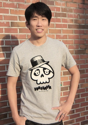 We are selling this cute T-shirt in our online store! Click on the photo to get one!