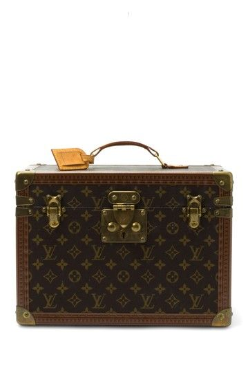 Louis Vuitton Leather Make-up Box