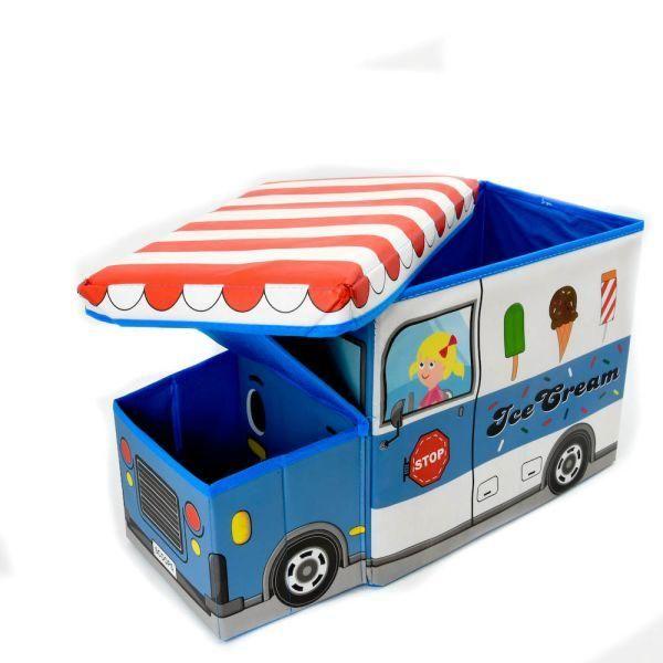 Jual beli KOTAK PENYIMPANAN BENTUK PENJUAL ES di Lapak Rijal - rijal6683. Menjual Tempat Penyimpanan & Organizer - Kotak Penyimpanan Serbaguna Truk Es Krim menghadirkan solusi praktis untuk menyimpan berbagai benda.  Kotak ini memiliki bentuk unik dengan motif animasi truk es krim, sehingga cocok untuk anak-anak.  Di dalamnya terdapat tempat cukup luas untuk menaruh barang seperti buku, mainan, atau aksesoris.  Selain dapat menyimpan berbagai perlengkapan, kotak serbaguna ini juga bis...