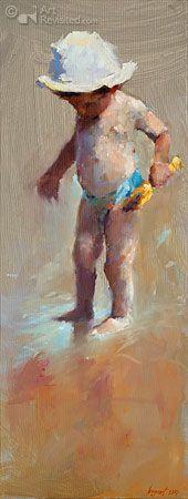 Kind met geel schepje By Dinie Boogaart