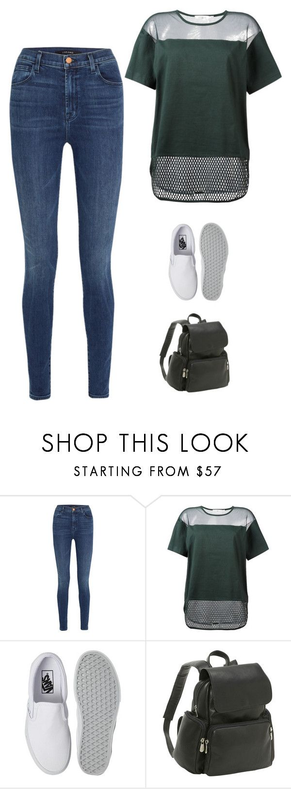 """""""Untitled #522"""" by savannahtaylor950 on Polyvore featuring J Brand, adidas, Vans and Le Donne"""