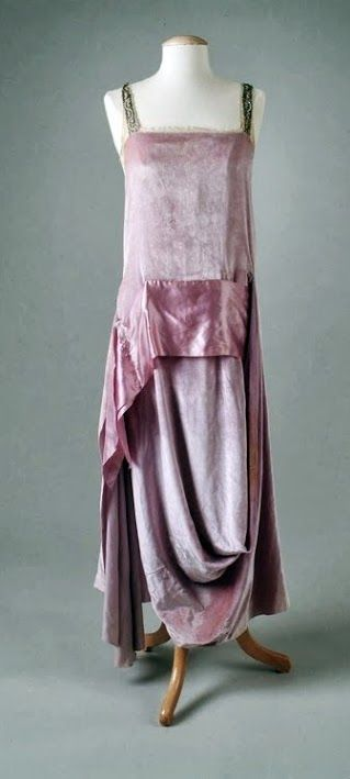 ~Callot Soeurs Dress - 1921 - The Meadow Brook Hall Historic Costume Collection~