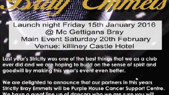 Support Strictly Bray Emmets – WicklowNews