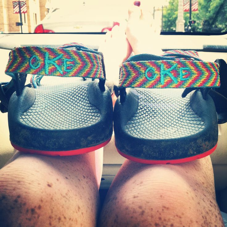 Monogramed Chacos!