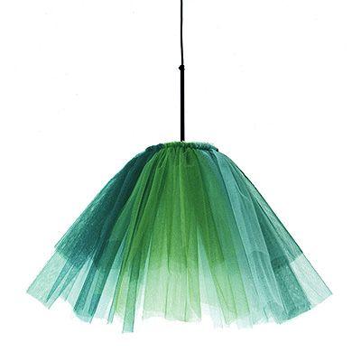 Jonas Bohlin's tulle lamp...