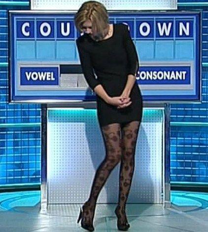 Rachel Riley Stocking | The stunning Rachel Riley from Countdown