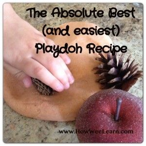 The Ultimate Play Doh Recipe - No-Cook, so easy, cannot mess it up - and feels amazing!!