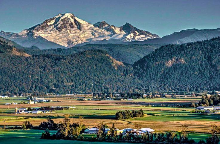 Fraser Valley near Abbotsford, BC by George Rettich