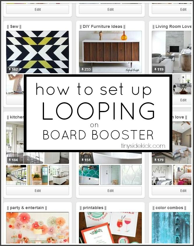 Hey there!  Last week I took a pause from my normal type of posting to tell my fellow bloggers about how to set up campaigns on Board Booster.  Well today,