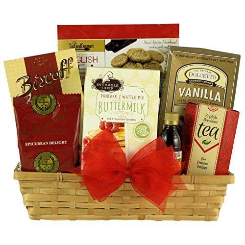 GreatArrivals Rise & Shine Gourmet Breakfast Gift Basket