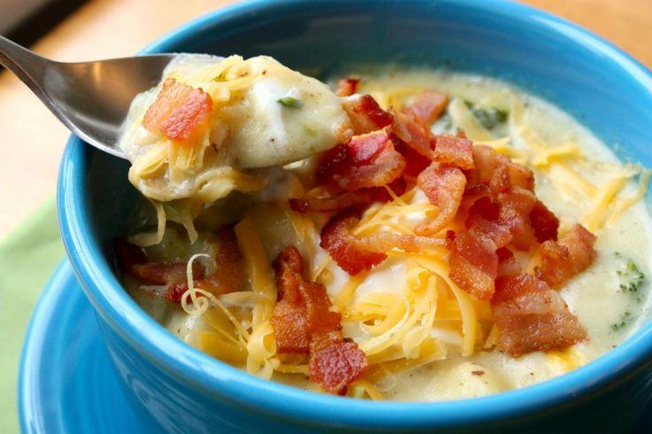 Baked potato soup....yum!