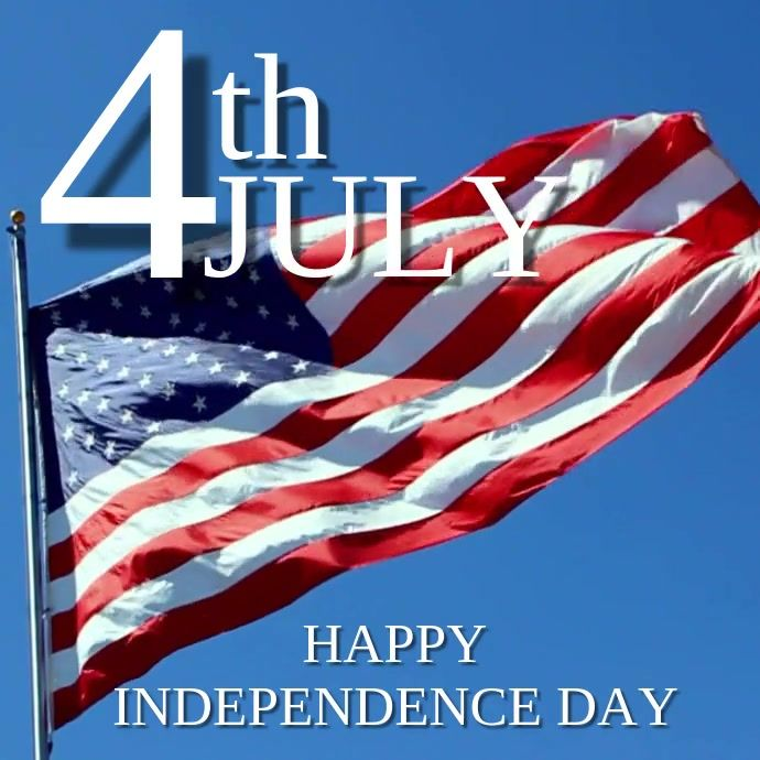 4th Of July Happy Independence Day 4th Of July Poster Template
