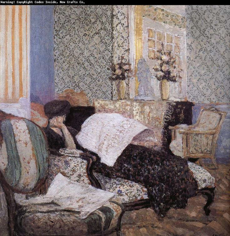 ✉ Biblio Beauties ✉ paintings of women reading letters & books - Edouard Vuillard