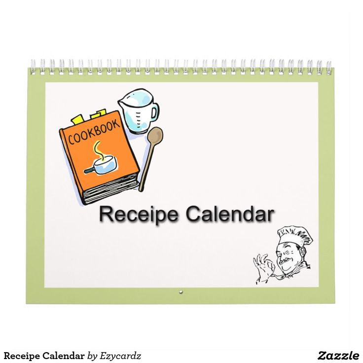 Receipe Calendar