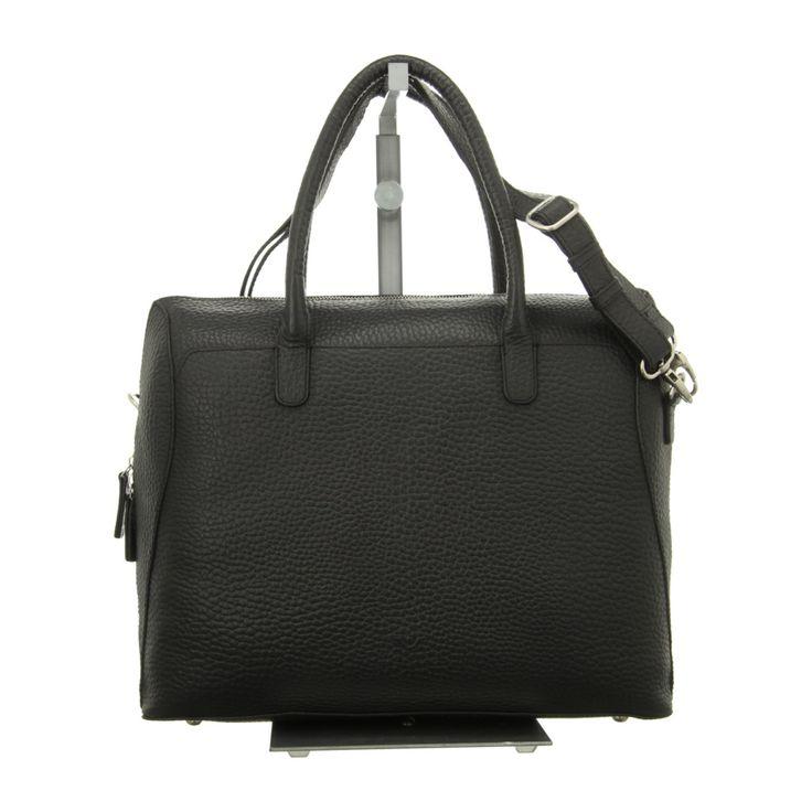 NEU: Voi Leather Design Handtaschen Laptoptasche - 20891 SZ - schwarz -