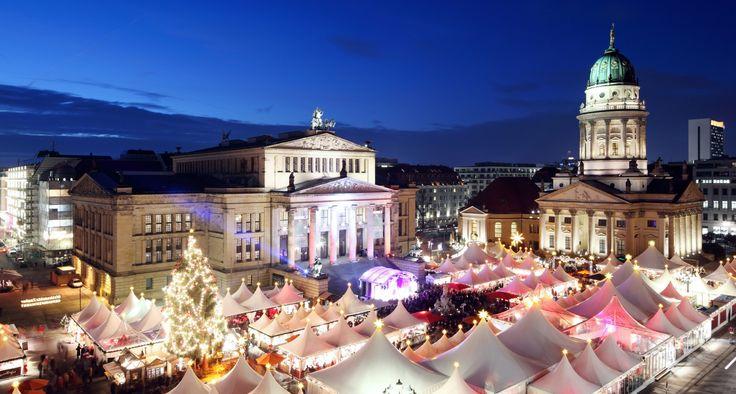 Weihnachtszauber am Gendarmenmarkt - Berlin