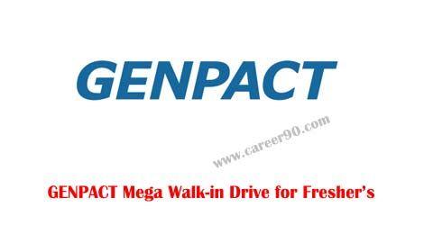 GENPACT Mega Walk-in Drive for Fresher's http://goo.gl/beqaMr  #Genpact #Megawalkin #Fresherjobs #Privatejobs