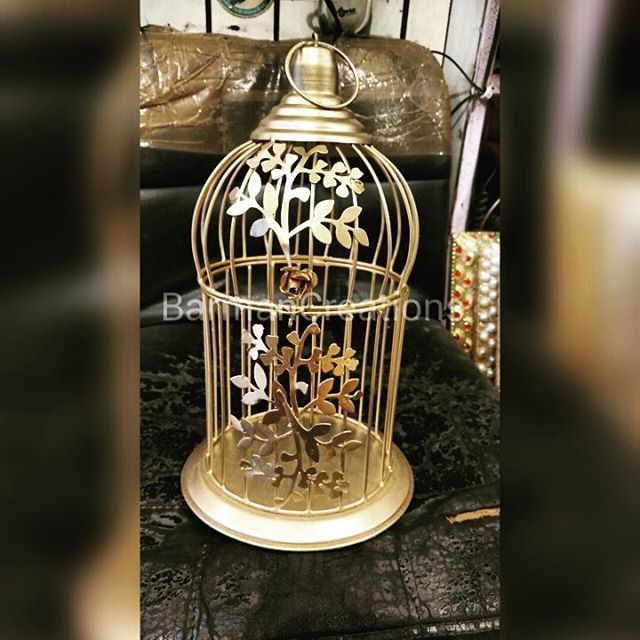 Bird Metal Cage · · · · · · · · · ·  #gift #giveaway #vendor #barmancreations #boxes #baskets #cages #trays #jewellery #chocolates #almonds #guests #boxes #giftitems #products #photo #weddingfavors #events #photographer #instagood #like4like #followme #delhi #delhidiaries #newdelhi #wedwise #sodelhi #wearegurgaon #wedtalkindia
