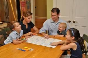 Family Emergency Plan--info on holding family emergency drills as well as things to include in the family emergency binder