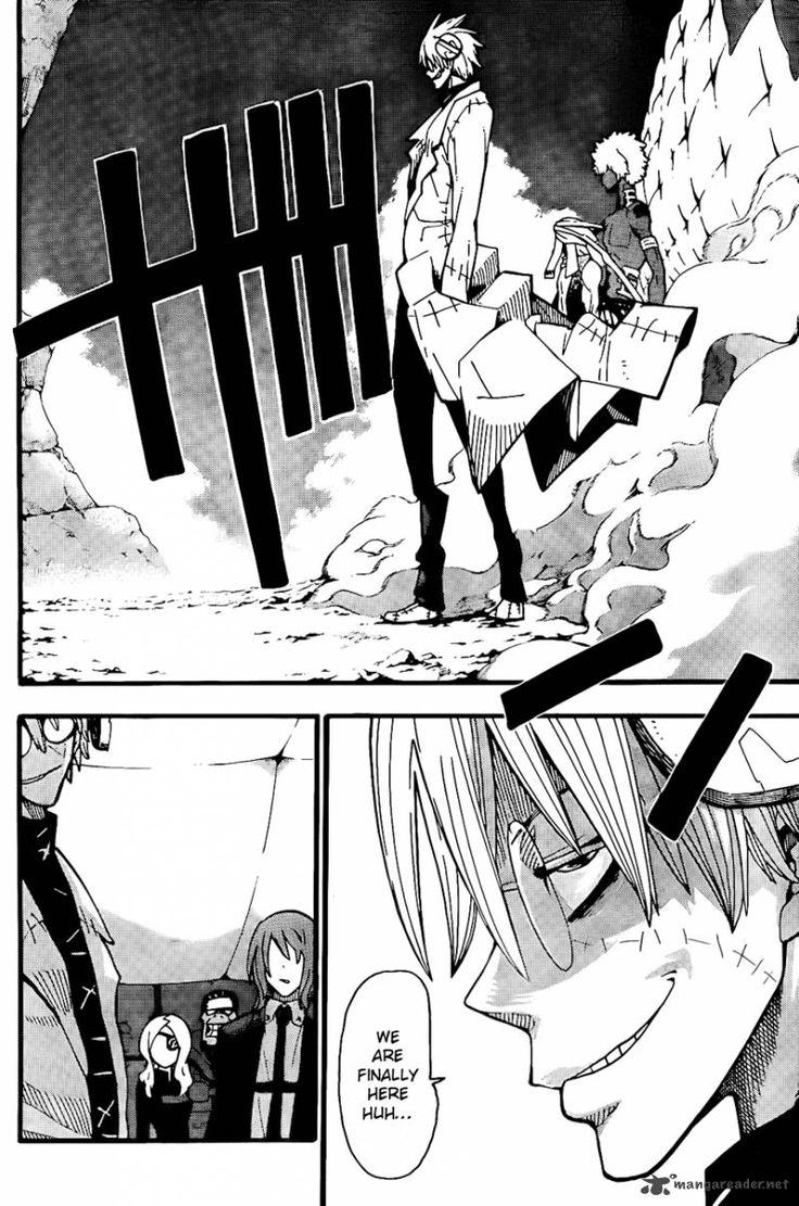 Soul Eater ~~ Stein is magnificent in the manga