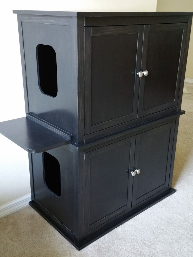 best 25 cat litter boxes ideas on pinterest hiding cat. Black Bedroom Furniture Sets. Home Design Ideas