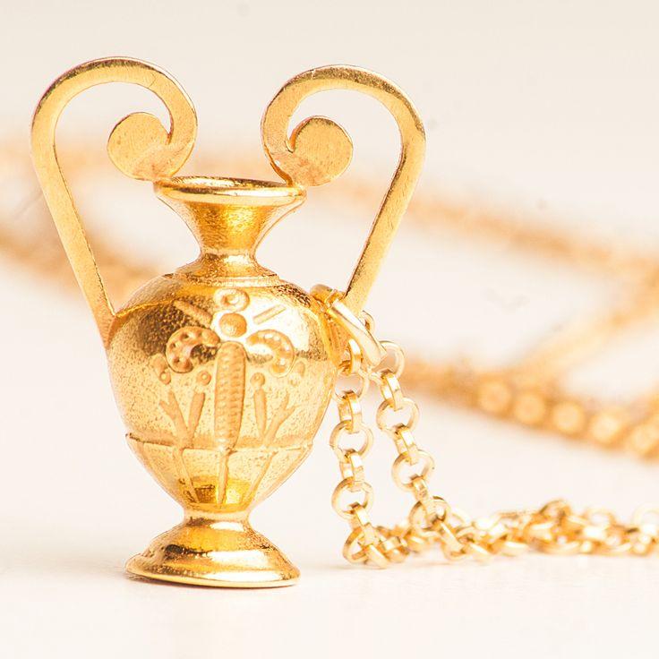 The Amphora pendant..Inspiration The Ancient Greek Amphora Vase