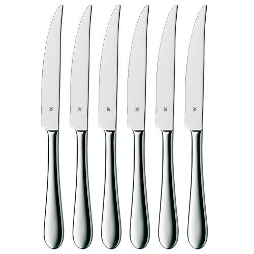 awesome WMF Set of 6 Signum Stainless Steel Steak Knives