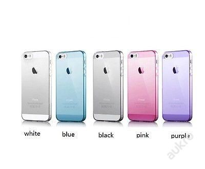 Kryt obal silicone na iPhone 4,4S,5,5S barevné