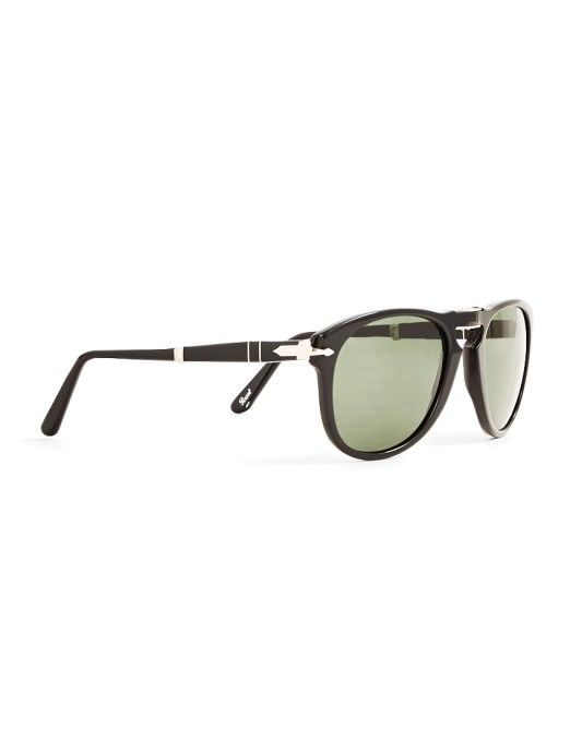 Persol Foldable Crystal Lens Sunglasses PO0714 Black #StyleMadeEasy