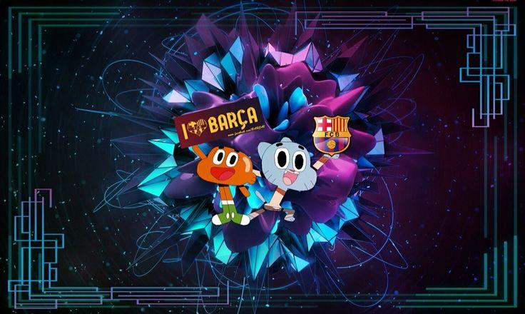 Gumball&Barca  love