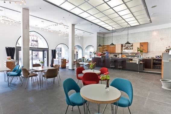 """""""Cafébar im Kunstverein"""" Coffeeshop at Arthall Frankfurt am Main"""