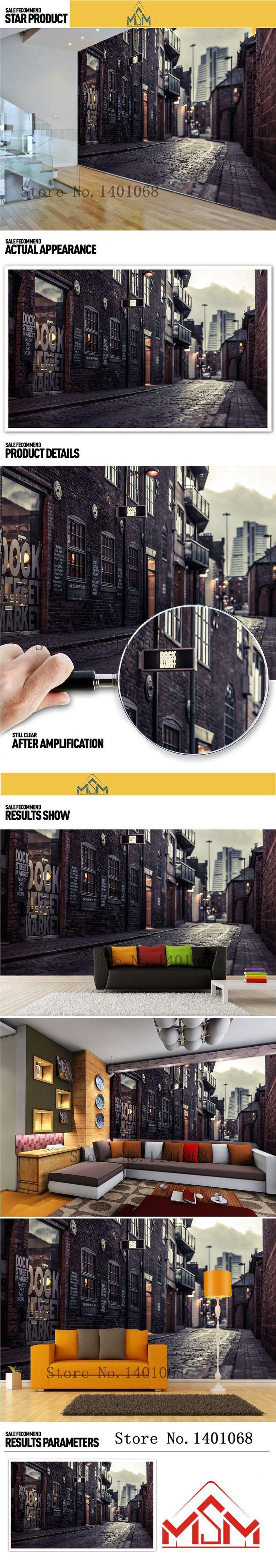 Высокое качество современная роскошь фотообои 3D обои 3D обои для стен фото обои 3д Париж улицы купить на AliExpress