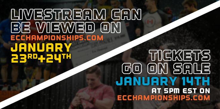 East Coast Championships | Seaport World Trade Center - Jan 23 & 24, 2015