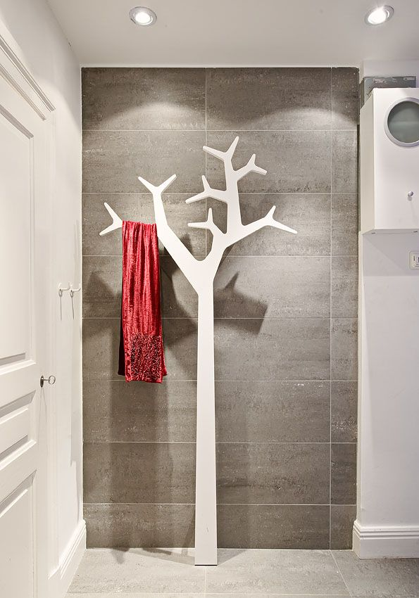 abstract tree clothes hanger