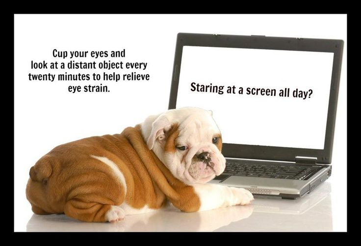 Stare at a computer the whole day? Take extra care of your eyes. #eyes #health