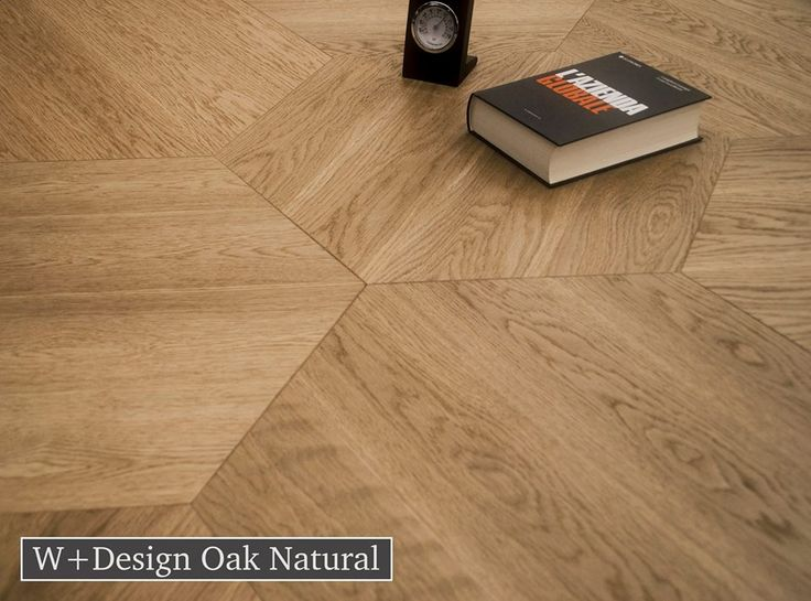 Made from sustainable European White Oak, this hexagon wood floor gives an authentic parquet look with its sharp angeled lines.