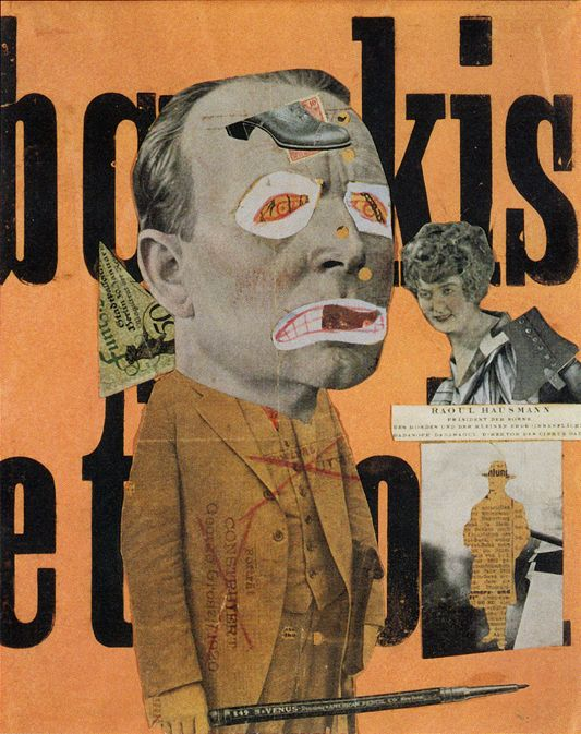 collage / photomontage by Raoul Hausmann